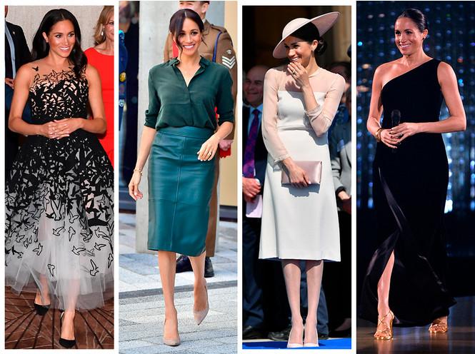 Лучшие образы Меган Маркл за первый год в королевской семье