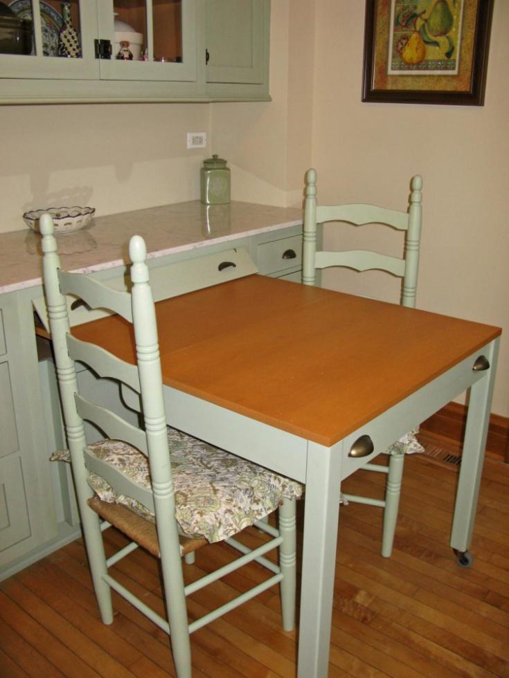 Столы трансформеры для маленькой кухни