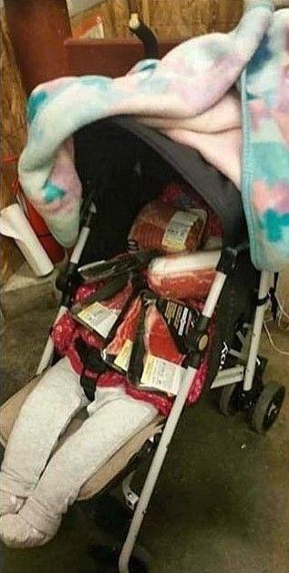 Ужасный случай в супермаркете