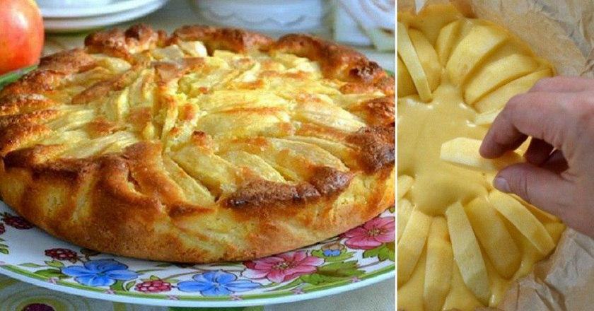 Деревенский яблочный пирог р…