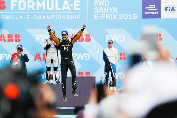 Formula E в Китае: шестая го…