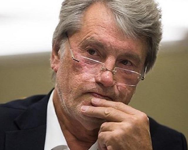 Ющенко своим неожиданным при…