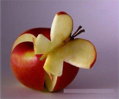 Получай порцию железа из яблока и порхай, как бабочка!