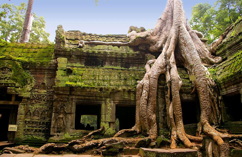 Камбоджийский храм Та Пром