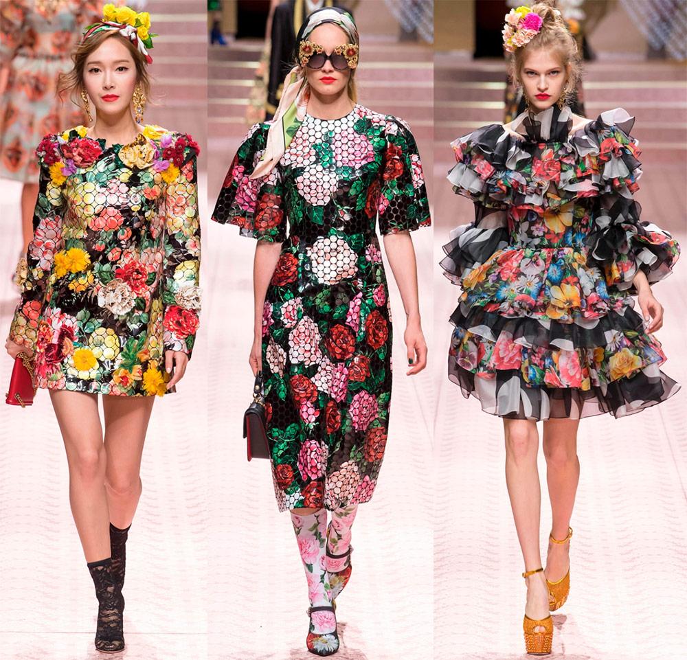 Dolce & Gabbana весна-лето 2019 — ярко, роскошно и очень женственно