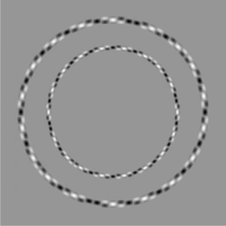 Две окружности и они круглые