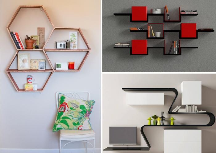 30 великолепных идей дизайна современных полок дизайн, креатив, полка