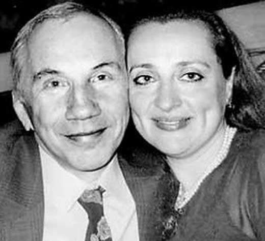 Савелий Крамаров и Наталья Сирадзе