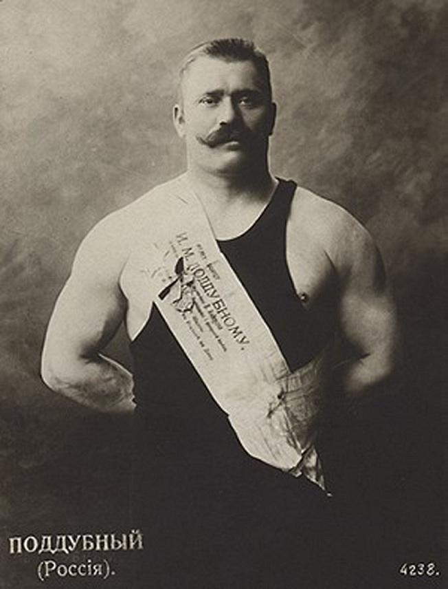 Иван Поддубный (видео 1912 года)
