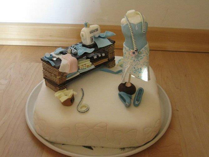 Шедевры кулинарного искусства: оригинальные торты-скульптуры