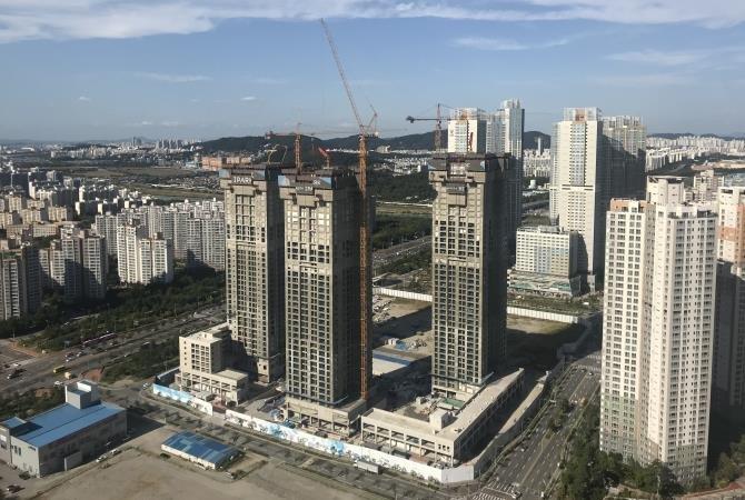Город будущего, из которого уезжают люди город-призрак, прогресс, сонгдо, умный город, утопия, южная корея