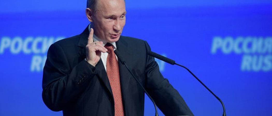 Путин вращает планету))