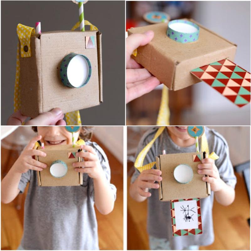 Какие поделки можно сделать из картона