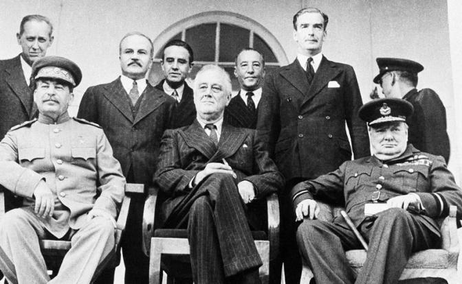 Как Сталин у Рузвельта и Чер…