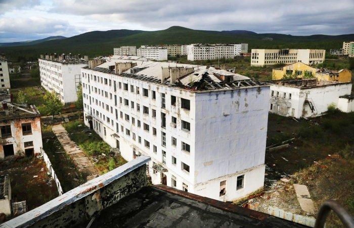 Кадыкчан, Магаданская область города, запустение, история