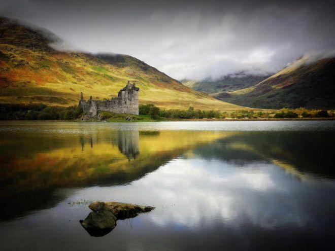 На территории Шотландии находится огромное количество красивейших озер