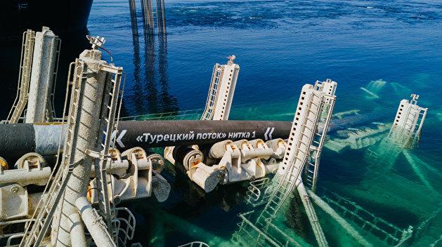 """""""Газпром"""": Украина в борьбе против """"Северного потока - 2"""" не заметила """"Турецкий поток"""""""