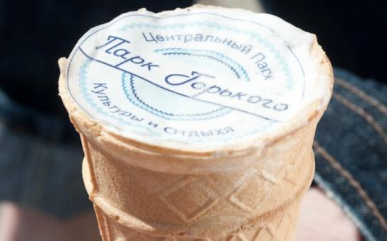 Мороженое Парка Горького