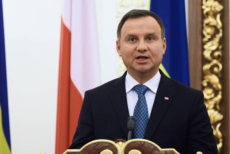 Польский президент предложил немцам альтернативу российскому газу
