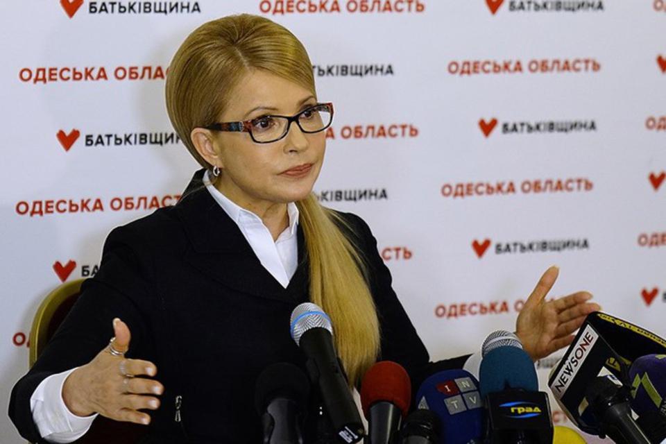 Тимошенко пообещала взять с …