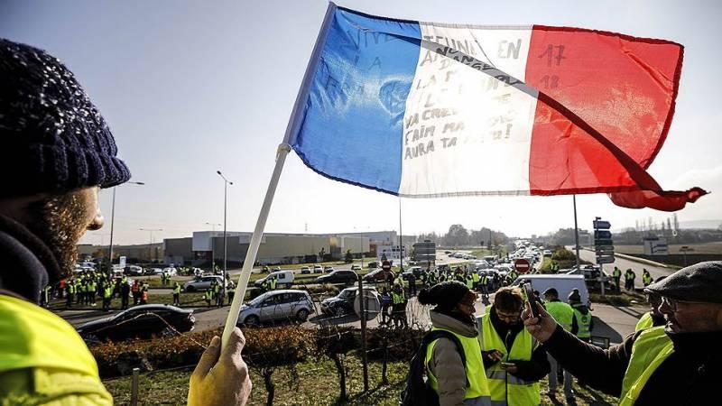 Во Франции не нашли вины России в акциях «Желтых жилетов»
