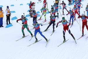 К сборной Украины по биатлон…