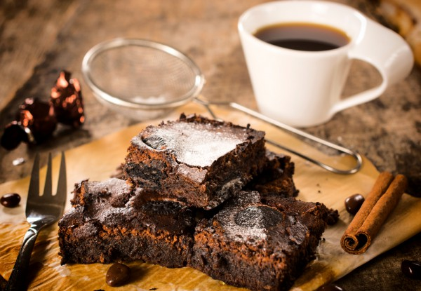 Рецепт брауни с кофе