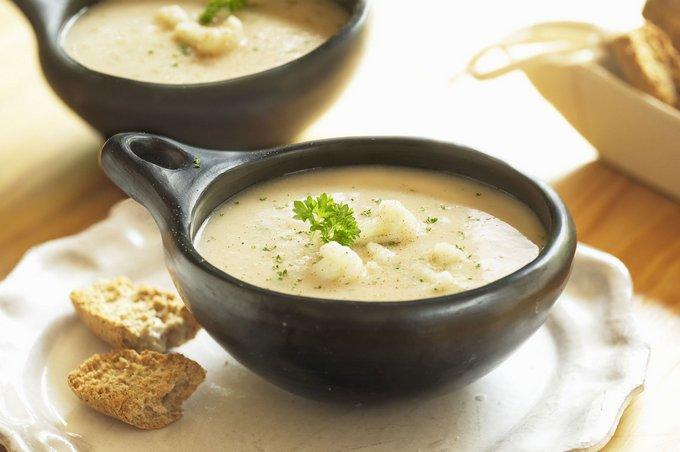Сливочный суп из цветной капусты