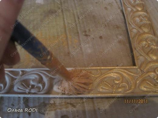 Рамочка из потолочного плинтуса. 14691