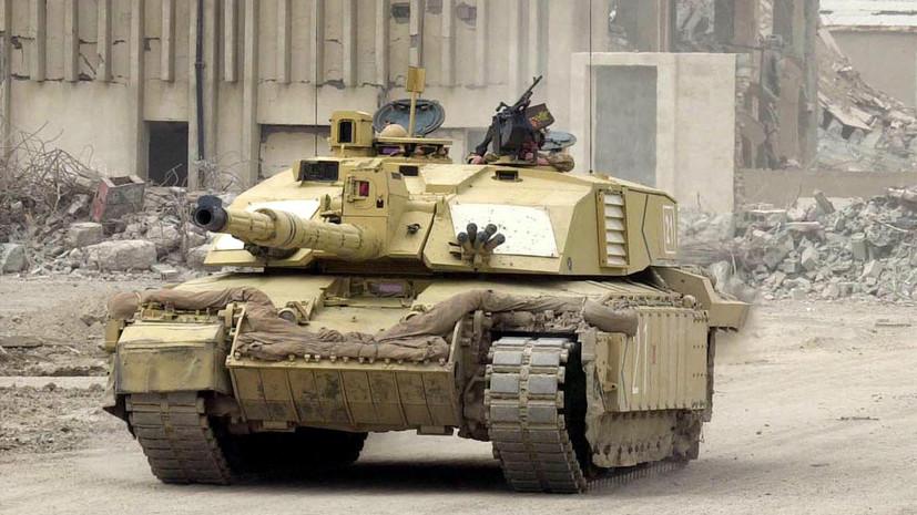 Военный эксперт прокомментировал модернизацию британского танка Challenger 2