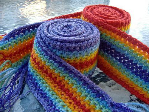детские шарфы крючком схемы вязание крючком детский шарф