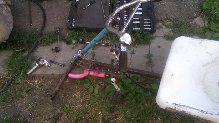 Веломобиль для дочки Drive2, Велосипед, Длиннопост, Самоделки