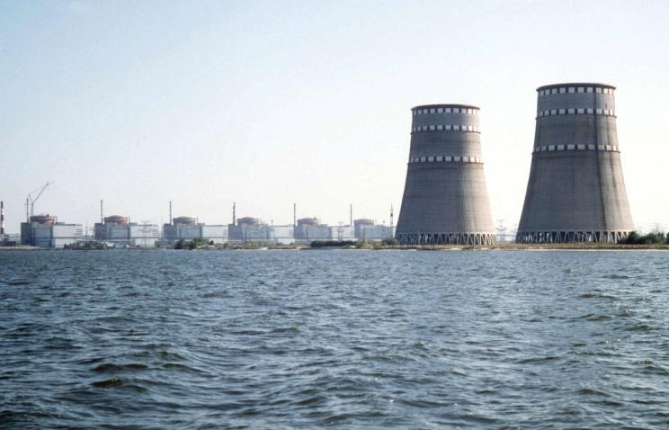 На Запорожской АЭС отключился от сети первый энергоблок