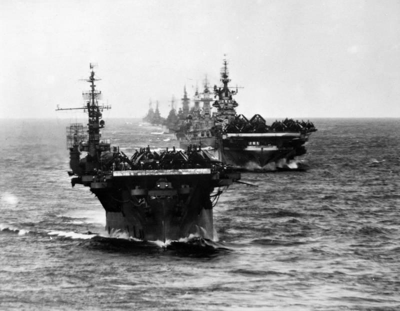 Везучие авианосцы US Navy