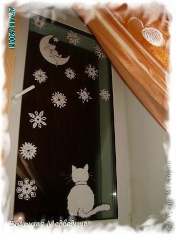 Украшаем окна к Новому году или Новогодняя сказка на окне