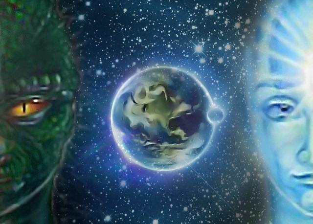 ПЛАНЕТОЙ ЗЕМЛЯ УПРАВЛЯЮТ РАЗНЫЕ ГРУППЫ ПРИШЕЛЬЦЕВ?