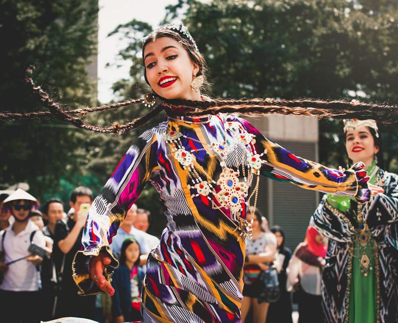 Буйство цвета - Фестиваль дружбы в Сеуле корея, моменты, планета, путешествия, страна, фото, фотограф, южная корея