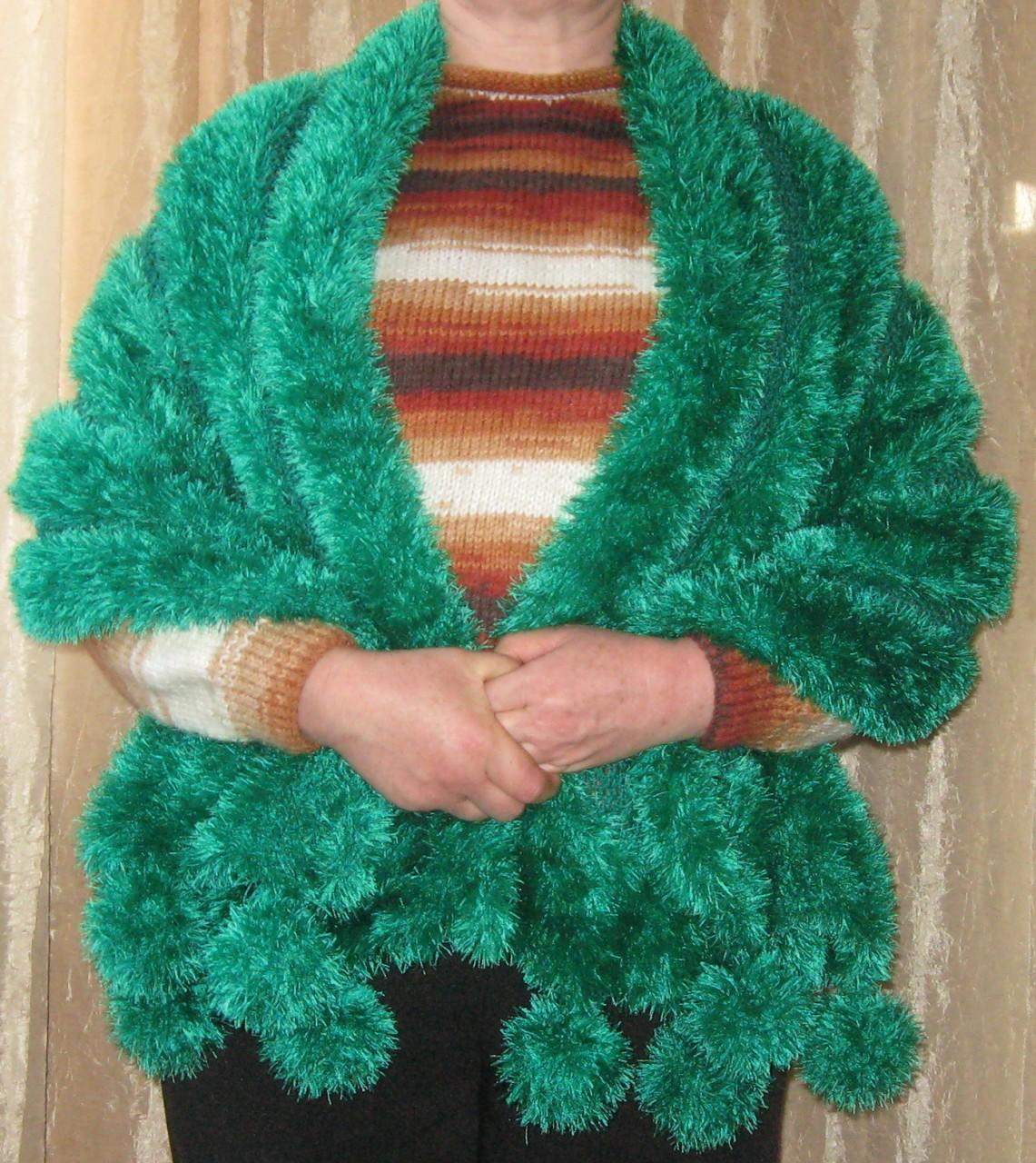 Вязание из ниток травка фото