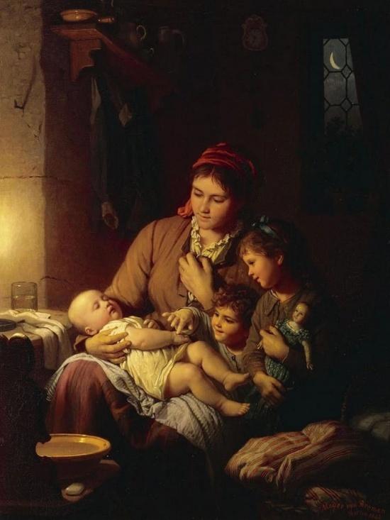 художник Иоганн Георг Майер фон Бремен (Johann Georg Meyer von Bremen) картины – 14