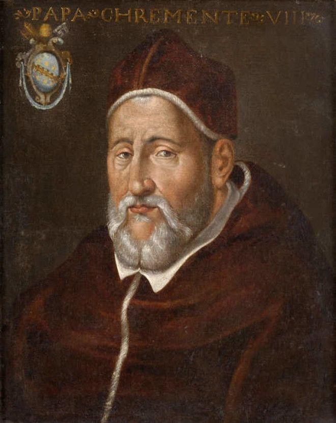 Папа Климент VIII./Фото: www.templiers-chevaliers.com