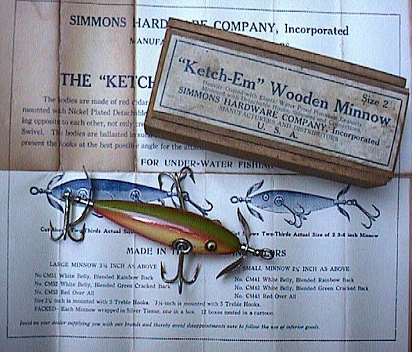 древние рыболовные приманки