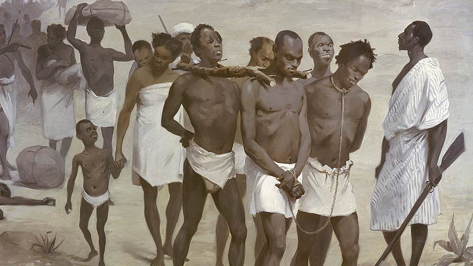 how slaves were brought from africa and shipped to america