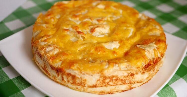 Шикарный мясной пирог