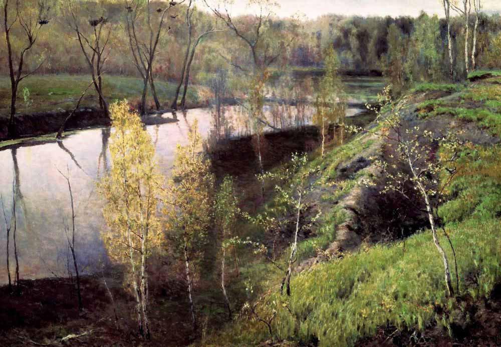 Проникновенные русские пейзажи И.С.Остроухова