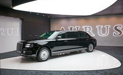В Женеве российский автомобиль Aurus назвали «настоящим танком»