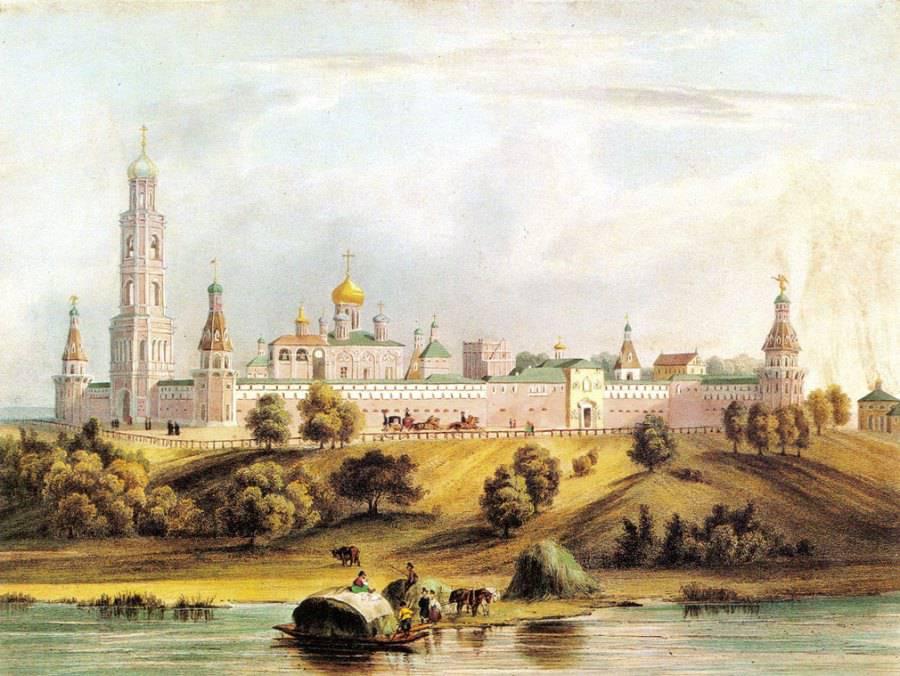 Симонов монастырь 1846 год.
