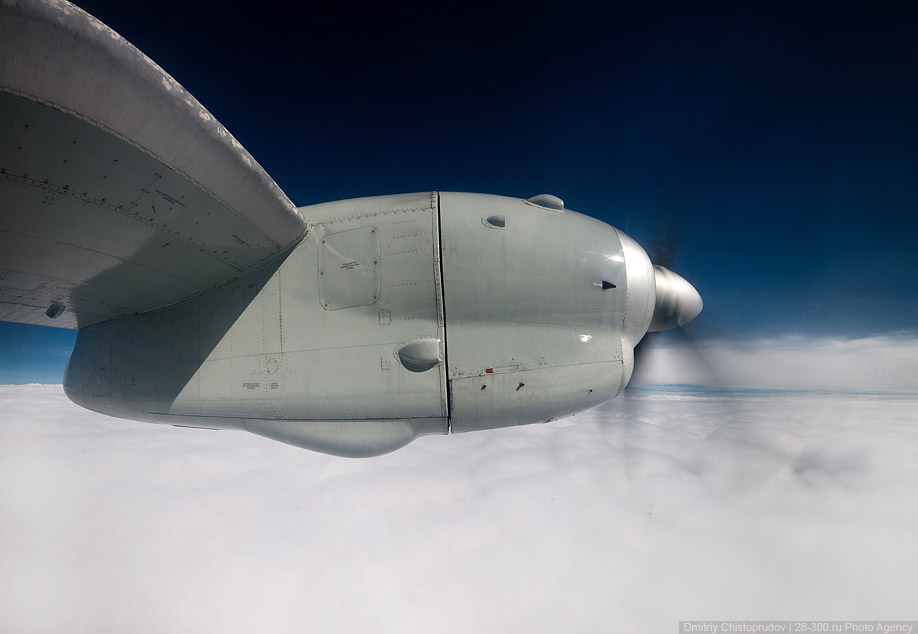 Полет на АН-24 в самый лучший аэропорт в мире.
