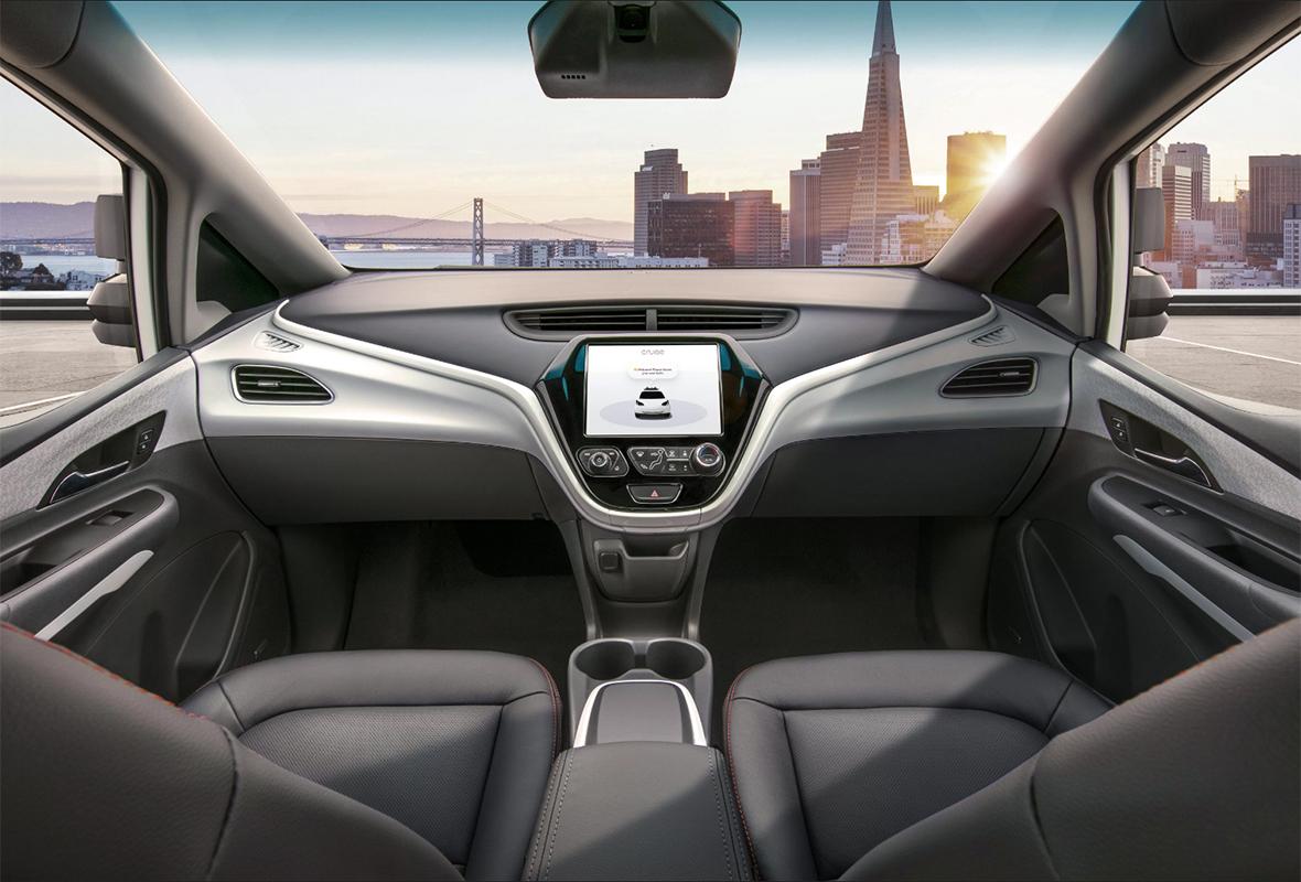 GM показала робомобиль без руля и педалей