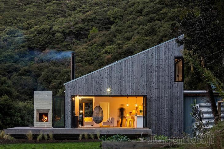 Дом эконом класса в Новой Зеландии