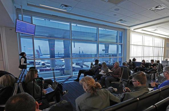 Умное стекло сделает пребывание в аэропорту более комфортным